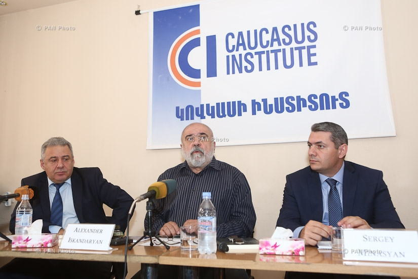 Presentation of book Deterrence in Nagorno Karabakh conflict by political analyst Sergey Minasyan