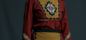 'Gutan' Ethnic Song and Dance Festival participants in National Armenian costumes