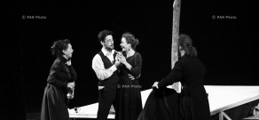 Nebolshoy Drama Theatre (Russia) - 'The Karamazov Brothers' performance: 14th High Fest international theatre festival