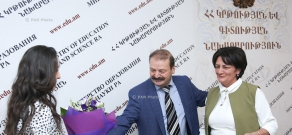 RA Ministry of Education and Science hosts awards ceremony in frames of the 'Teacher's Day'
