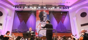 "The 4th Khachaturian International Festivall opens at Aram Khachaturian Concert Hall with ""Khachaturian Meets Jazz"" concert program"