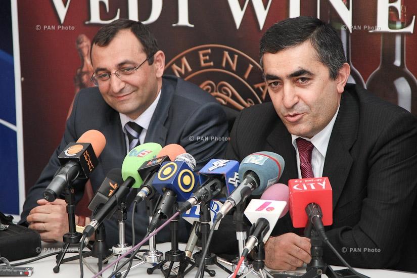 Արմեն Ռուստամյանի և Արծվիկ Մինասյանի մամուլի ասուլիսը