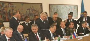 Signing of documents during the sessions of CSTO statutory bodies