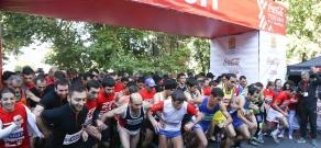 «Կոկա-Կոլա Երևան կիսամարաթոն» վազքի մրցույթը