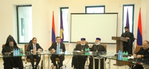 Opening of 4th International Forum of Armenian Libraries titled