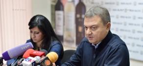 Пресс-конференция директора газеты «Аздак» Шагана Гантааряна