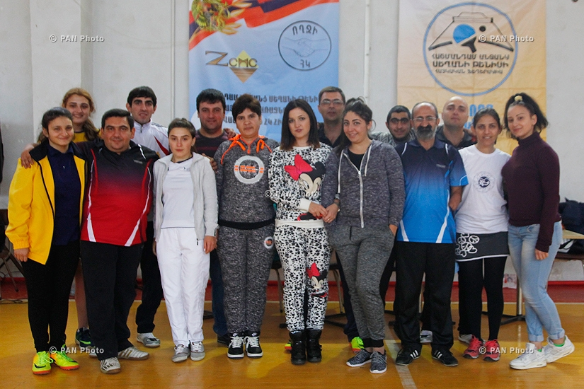 Abovyan hosts Team Table Tennis Championships among persons with disabilities